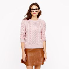 J.Crew - Collection silk-cashmere handknit popcorn sweater ---OMG love it so much!!