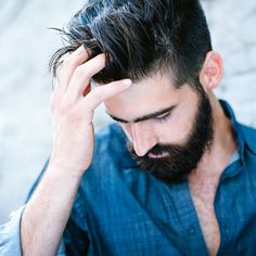 I get a lot of questions about how I style my hair. Quicksand is my go to! Use promo code: JOEL when you order! Joel Alexander, My Hair, Style Me, Rings For Men, Hair Cuts, This Or That Questions, Hair Styles, Fashion, Haircuts