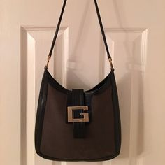 Gucci Black Brown Leather Shoulder Bag Mass posting.  Will add description tomorrow.  Please do not purchase until description is added or I will need to cancel the order. Gucci Bags Shoulder Bags