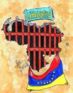 Venezuela libertad!