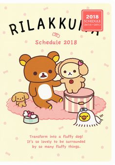 https://flic.kr/p/Z37c2G   San-X Rilakkuma 2018 Diary (B6)   Available at Daisuki Australia's eBay store: selling Sanrio, San-X, Crux, Kamio and Q-lia since 2005. The link to my store is in my profile.