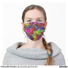 Shop Pink Blue and Purple Watercolor Cloth Face Mask created by charmeddaystudio. Paint Splash, Disco Ball, Disco Disco, Yellow Painting, Shape Of You, Ear Loop, Pink Blue, Blue Green, Teal