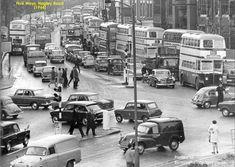Hagley Road, five ways, 1966 Birmingham England, Birmingham Alabama, Old Bangers, 2nd City, Old Street, Local History, Best Cities, Newcastle, Historical Photos
