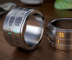 Ring ClockThe ring clock is the ideal watch for those who've always wanted to have a little bit more time on their hands. This imaginative stainless steel time piece fits comfortably and displays the time by lighting up the hour and minute with vibrant and colorful LEDs.$210.00Check It OutAwesome Sh*t You Can Buy