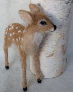 Deer fawn by Claudia Marie Felt                                                                                                                                                                                 More