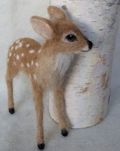 Deer fawn by Claudia Marie Felt