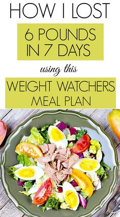 Here are 42 healthy meals that I ate while trying to lose weight on Weight Watchers. In just 1 week, I lost 6 pounds eating amazing healthy meals using ingredients that you may already have on hand. And the best part, I was never hungry! Weight Watchers Meal Plans, Plats Weight Watchers, Weight Watchers Diet, Weight Loss Meals, Best Weight Loss Foods, Weight Loss Drinks, Best Diet Foods, Best Weight Loss Supplement, Diet Plans To Lose Weight Fast
