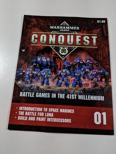 Warhammer Conquest Magazine Review Warhammer Conquest, Battle Games, Space Marine, Magazine, Baseball Cards, Magazines, Warehouse, Newspaper