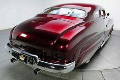 '50 Mercury Custom in Red Cherry....Re-Pin brought to you by #HouseofInsurance in #EugeneOregon for #CarInsuranceAgents
