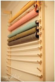 Image result for fabric bolts storage
