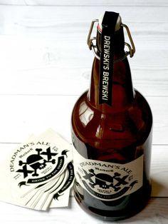 Diecut skull and cross bones beer label by garagemonk on for Garage cros agde