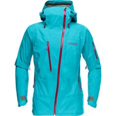 Backcountry.com is the exclusive US retailer for Norrona products, and it's bringing you the Women's Lofoten Gore-Tex Active Shell Jacket so you can sport it down the steep summits in Chamonix, France or the steeps of A-Basin, Colorado. Made with a Gore-Tex Active Shell, this jacket has guaranteed waterproof protection that keeps you dry in the burliest weather, and yet it remains remarkably breathable and light—weighing barely over one pound—so you can climb, tour, or even hike in this ...