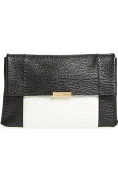 Ted Baker London Parson Leather Crossbody Bag available at #Nordstrom