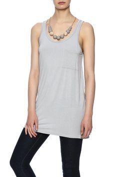 Grey pocket tank.   Grey Pocket Tank by Emma's Closet. Clothing - Tops - Tees & Tanks Oklahoma