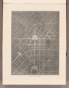 Plan of Civic Center. (By Daniel H. Burnham. Assisted by Edward H. Bennett. 1905)