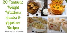 20 Weight Watchers SNACKS/APPETIZERS Recipes