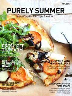 Purely Summer Magazine | July 2014  Over 25 gluten-free summer recipes, a make-your-own mojito bar, entertaining ideas, an interview with Venus Williams + much more!