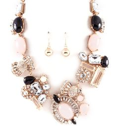 Gail Necklace in Blush on Emma Stine Limited