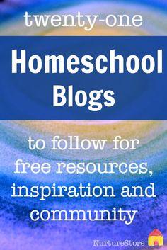 the best homeschool blogs to follow :: home education blogs :: homeschool resources