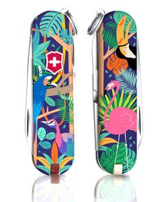 For the year, Victorinox and jovoto teamed up to design the 2017 Classic Limited Edition Swiss Army Knife. Here are the Victorinox 2017 Awards! Victorinox Pocket Knife, Victorinox Swiss Army, Innovation Challenge, Tropical Birds, Animals Of The World, Swiss Army Knife, Beautiful Birds, Mammals, Knifes