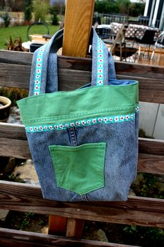 Weiteres - Tasche Jeans Upcycled - ein Designerstück von Juliane-Buness bei DaWanda