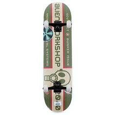 """Alien workshop #skateboards logo #survival complete skateboard 8"""" free #delivery,  View more on the LINK: http://www.zeppy.io/product/gb/2/182349390793/"""