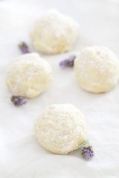 Epicurean Mom: Coconut Lavender Cookie Balls