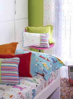 Casual and fresh little boy room. -Collection Momo by  #Rioma-