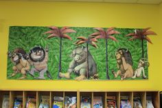 Where The Wild Things Are Bulletin Board.