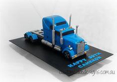 Long Haul Truck Cake on Cake Central
