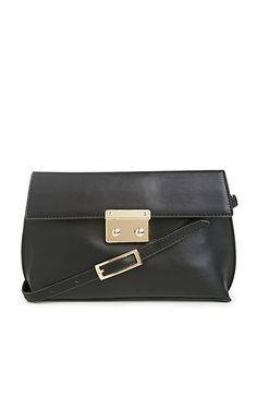 Selena Structured Vegan Leather Clutch