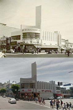 Then & Now: Hollywood and Cahuenga, 1930s and 2015