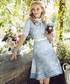 Pin for Later: Reese Witherspoon Pulls the Ultimate Fashion Designer Move For Her Harper's Bazaar Cover Reese's Celebratory Instagram Reese announced the debut of her new clothing line with this post!