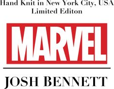 Marvel x Josh Bennett hand knit luxury sweater collections.  Menswear. Thor, Black Panther