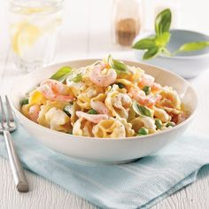 Poisson/fruits de mer - Page 4 of 27 - 5 ingredients 15 minutes Sauce Alfredo, Tortellini, Macaroni, Noodles, Bacon, Sandwiches, Healthy Eating, Nutrition, Fish