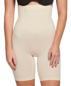 eaad205cd0c3a Love this Nude Moderate Compression High-Waist Shaper Shorts - Plus Too on   zulily
