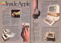 Apple Computer Inc. was established on April 1976 and incorporated on January Apple first started advertising its products i. Der Computer, Computer Technology, Energy Technology, Computer Programming, Technology Gadgets, Steve Jobs, Vintage Advertisements, Vintage Ads, Apple Advertising