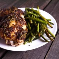 awesome Honey Dijon Rosemary Chicken Thighs
