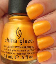 @China Glaze Orange You Hot?