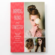 Step-by-Step Tutorials for 80 Fabulous Hairstyles  Top knots, Heidi braids, French twists, oh my! Chic hair is all the rage from the runways to the blogs to the city streets. This book pulls together 80 classic and contemporary styles and provides step-by-step tutorials for each one. Trendsetters from teens to professionals will love mixing up the looks for parties, the office, a casual beach day, or an elegant night out. Simple how-to illustrations take the guesswork out of styling…