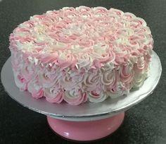 Rosette themed cake by CakesbySthabile