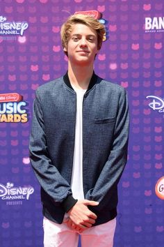 Jace Norman at the 2016 Radio Disney Music Awards...