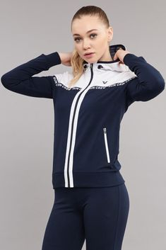bilcee 18S-3107 KADIN ORME ESOFMAN TAKIM BİLCEE Womens Workout Outfits, Sporty Outfits, Trendy Outfits, Girl Outfits, Girl Sweat, Track Suit Men, Denim Shirt Dress, Denim Coat, Clothes For Women