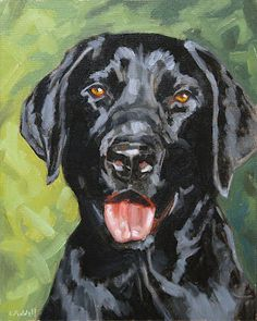 Black Lab makes me miss Cleo... I love labs