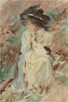 John Singer Sargent's Watercolours