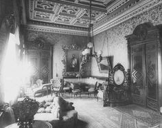 Victorian Interiors, Victorian Homes, Russian Fashion, Russian Style, Russian Architecture, Old Photography, Imperial Russia, Furniture Styles, Historical Photos