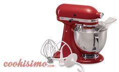 Pinta tu cocina de rojo con esta batidora #amoelrojo