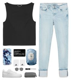 """I Know // Imagine"" by mel2016 ❤ liked on Polyvore featuring Monki, Zara, Smashbox, adidas, Fresh, NIKE, NARS Cosmetics, Crate and Barrel, Ray-Ban and polyvoreeditorial"