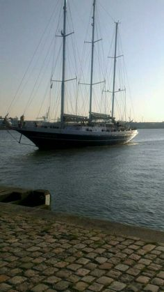 Sailing with de Eendracht Rotterdan