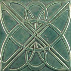 Nice take on a Celtic tile. madamebeloved